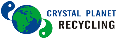 Crystal Planet Recycling Logo